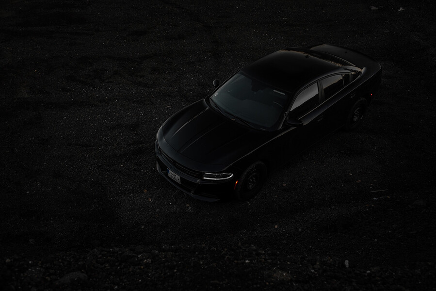 Black On Black, Dodge Charger